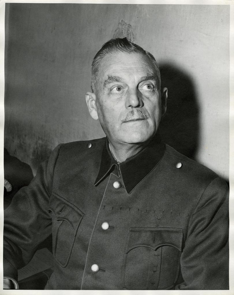 Вильгельм Кейтль в дни трибунала