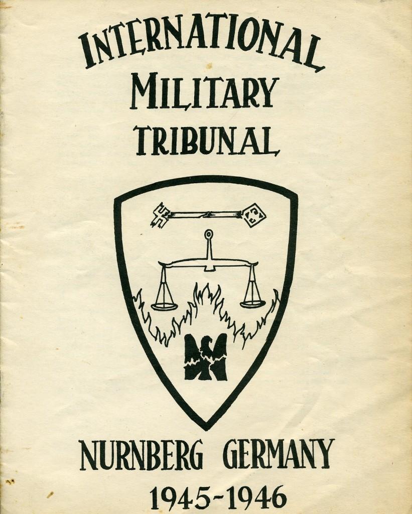 Эмблема Нюрнбергского трибунала