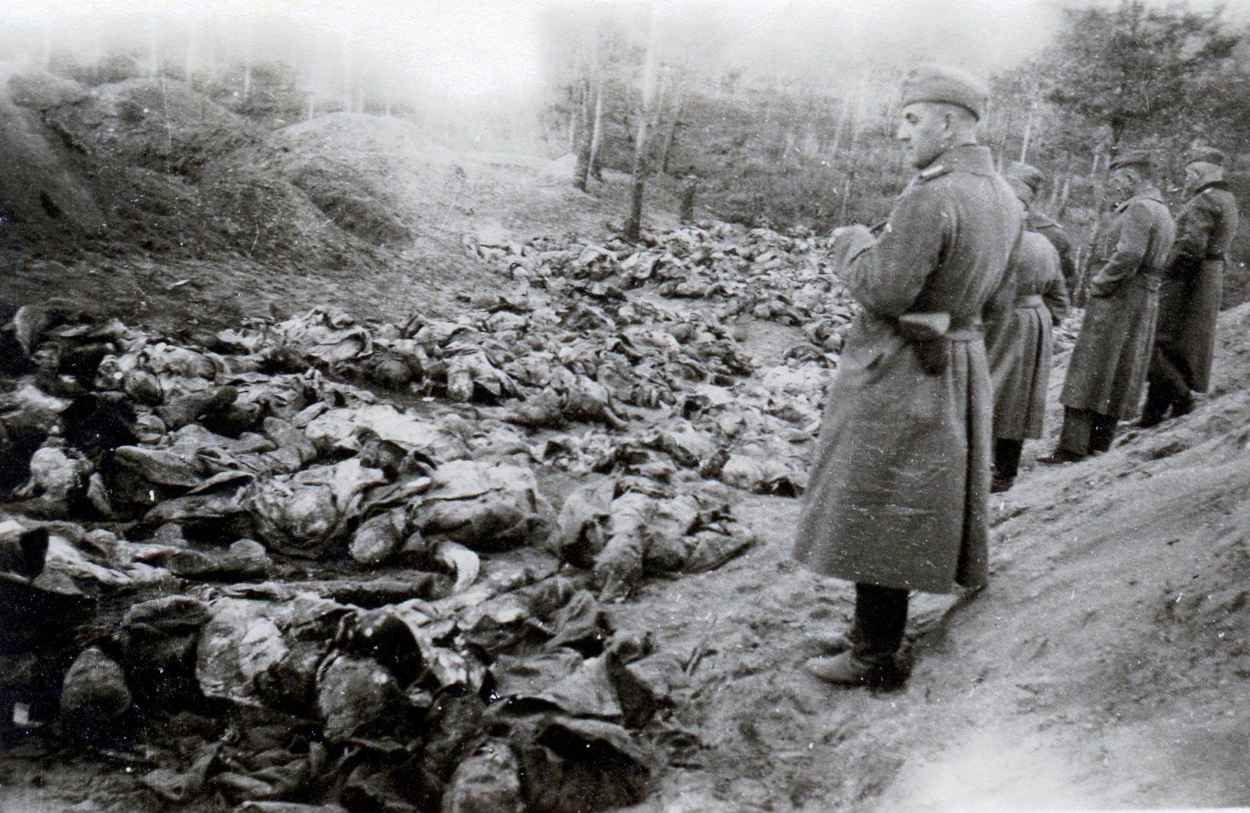 Жертвы фашистских расстрелов