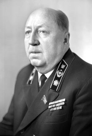 Главный обвинитель от Советского Союза прокурор Р.А. Руденко