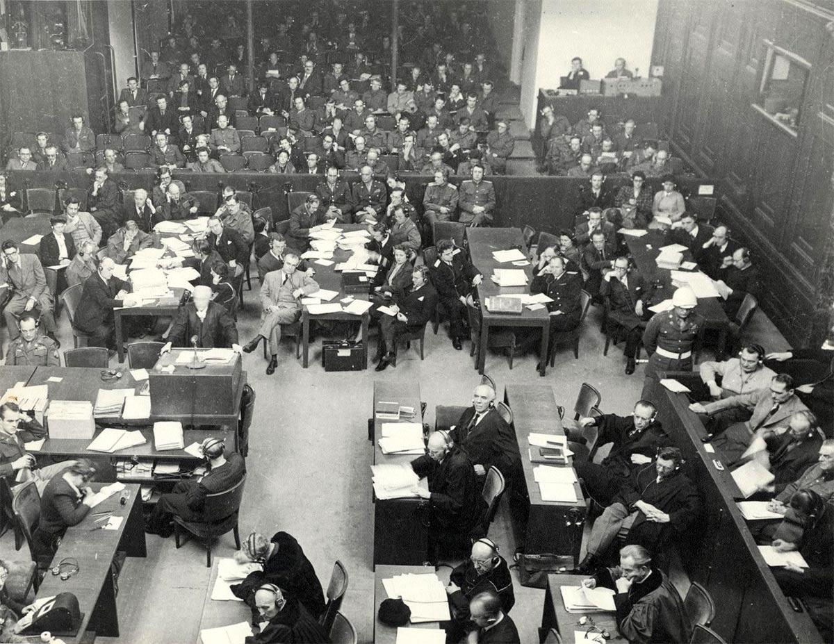 Зал Нюрнбергского трибунала