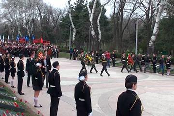 Одесса отмечает 69 памятных лет   Великой Отечественной войны