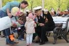 Ветераны на празднике 70-летия Победы