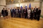 Делегация СФ почтила память павших русских солдат возложением венка в Словении