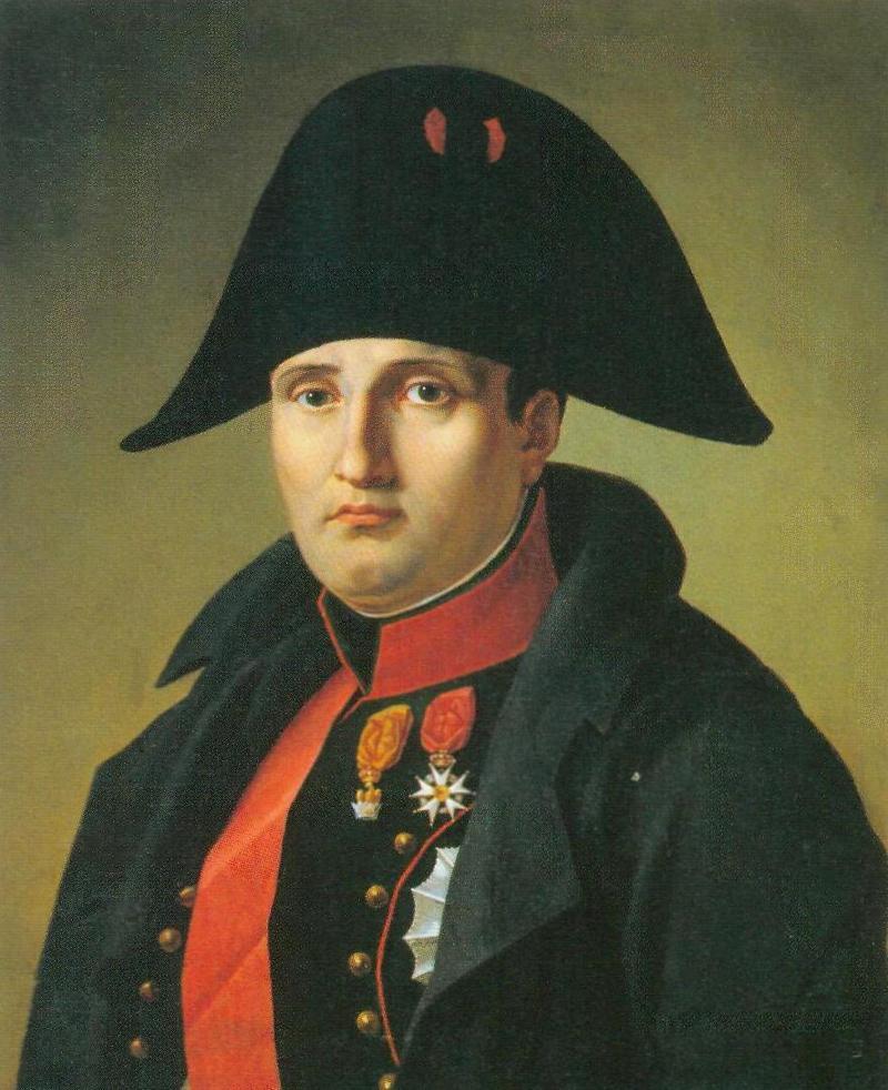Портрет французского императора Наполеона Бонапарта, с которым Александр I договорился о «командировании» А.Бетанкура в Россию