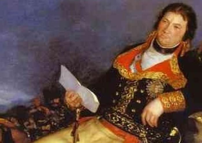 Фрагмент портрета премьер-министра Испании Мануэля Годоя. Автор – великий испанский художник Франсиско Гойа