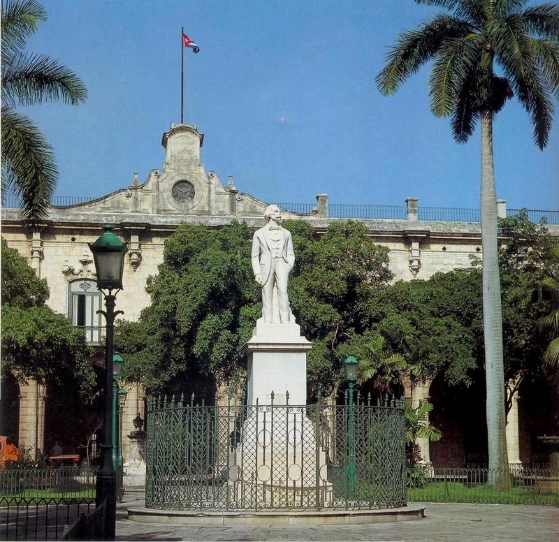 Гавана. Площадь Оружия. Здание дворца генерал-капитанов, ныне – Музея Гаваны, где хранится портрет графа Касы Монтальво