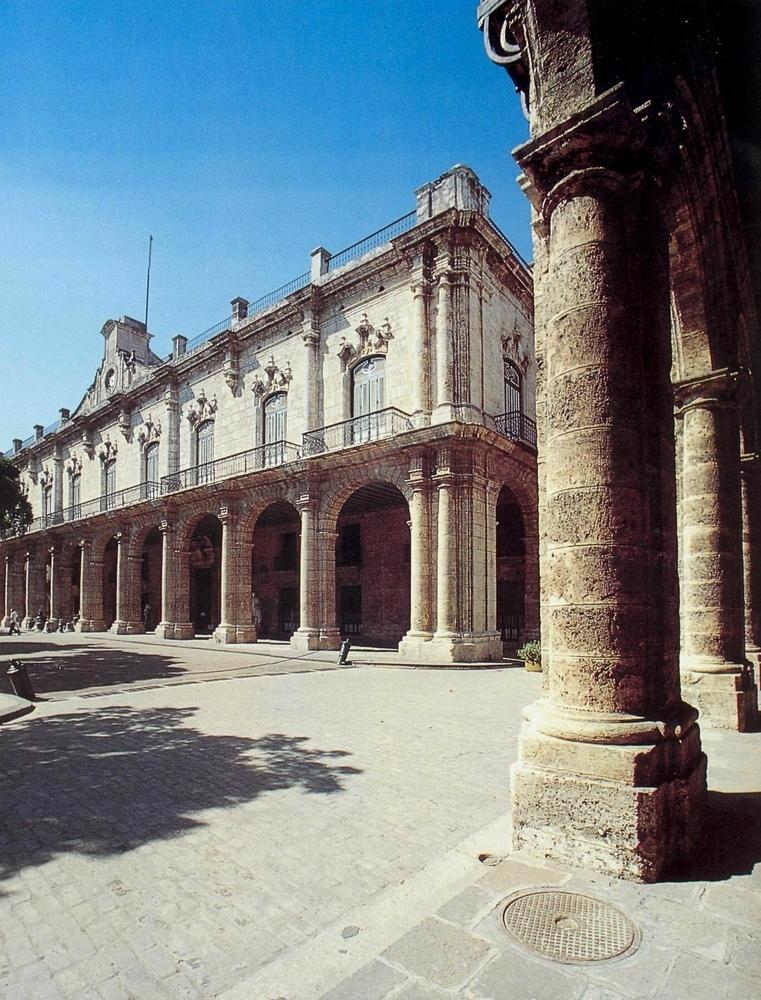 Гавана. Музей Города, вид справа
