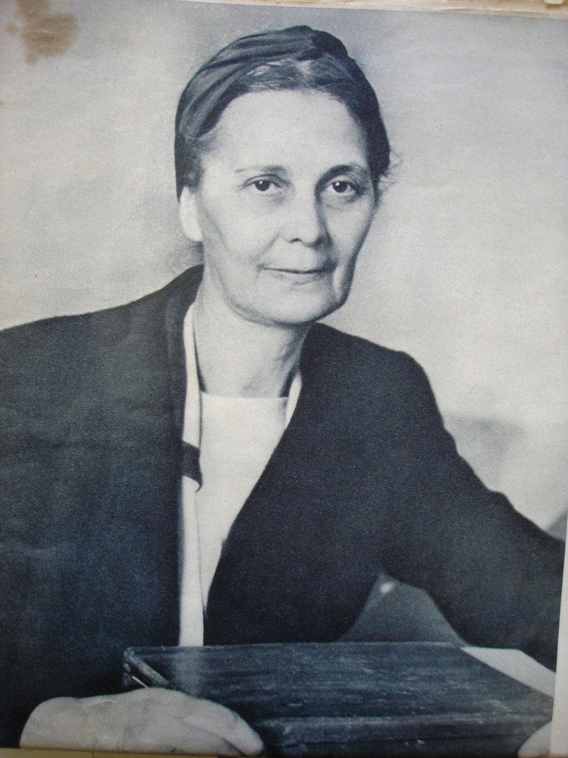 Единственная сохранившаяся фотография Маргариты Хитрово-Эрдели в иммиграции