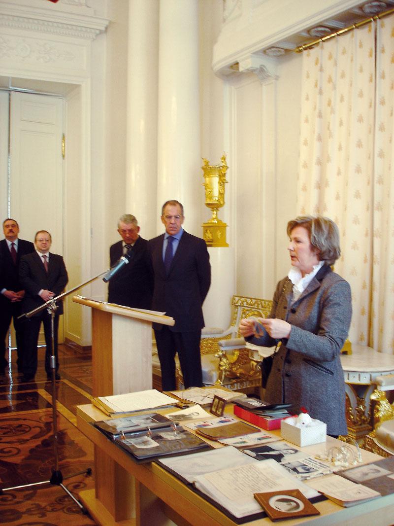 Н.В.Данилевич рассказывает о коллекции Хитрово, которую ей удалось вернуть в Россию