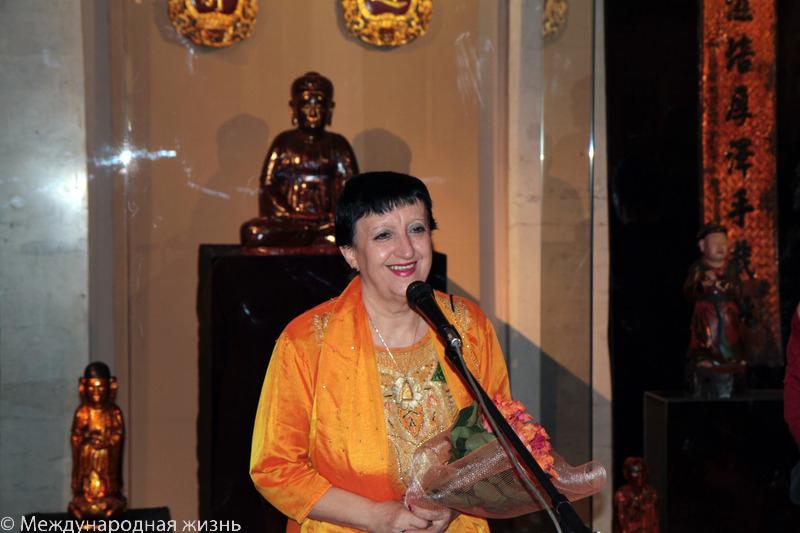 Татьяна Метакса, первый заместитель генерального директора Государственного музея Востока