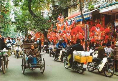 Улицы современного Ханоя